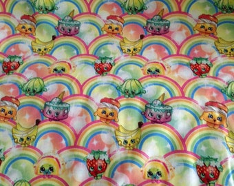 Shopkins Cotton Fabric by the Yard
