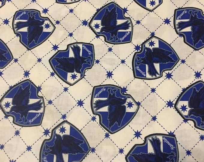 Harry Potter (Ravenclaw House) Cotton Fabric by the Yard