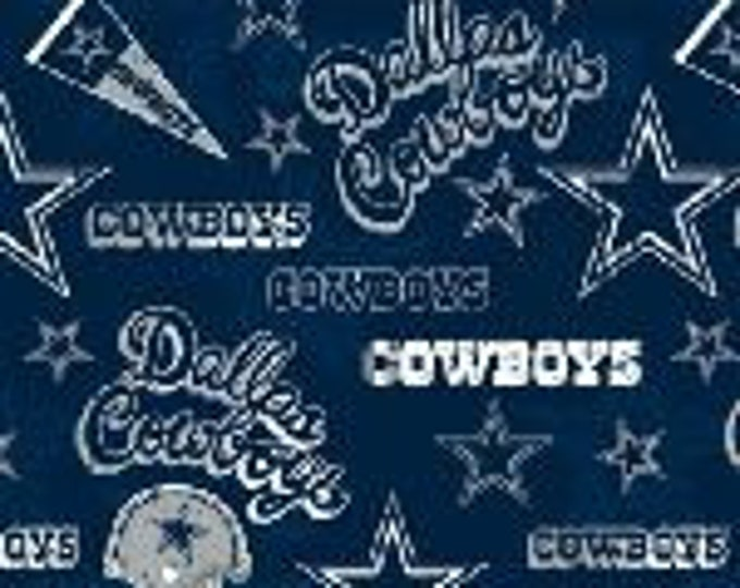 Dallas Cowboys Cotton Fabric by the Yard