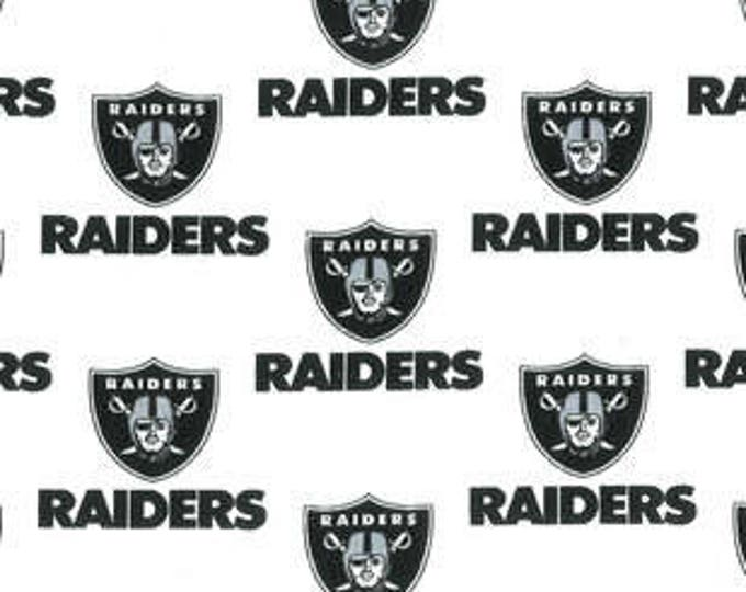 Oakland Raiders Cotton Fabric by the Yard