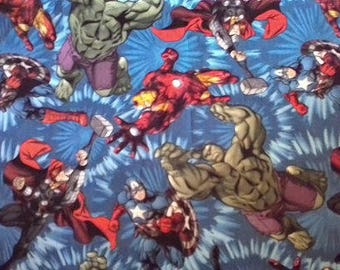 Avengers Cotton Fabric by the Yard