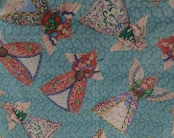 Angels Cotton Fabric by the Yard