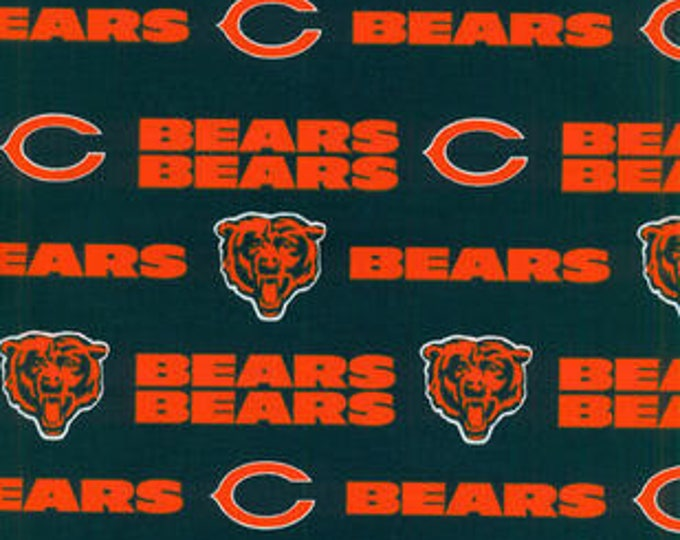 Chicago Bears Cotton Fabric by the Yard