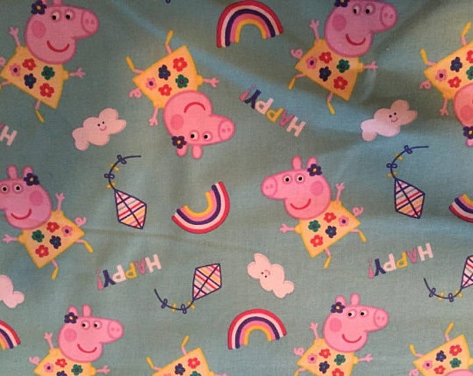Peppa Cotton Fabric by the Yard