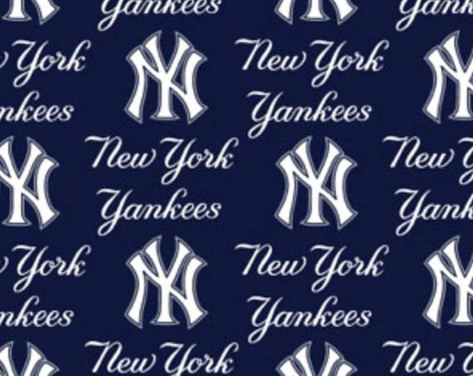 New York Yankees Cotton Fabric by the Yard