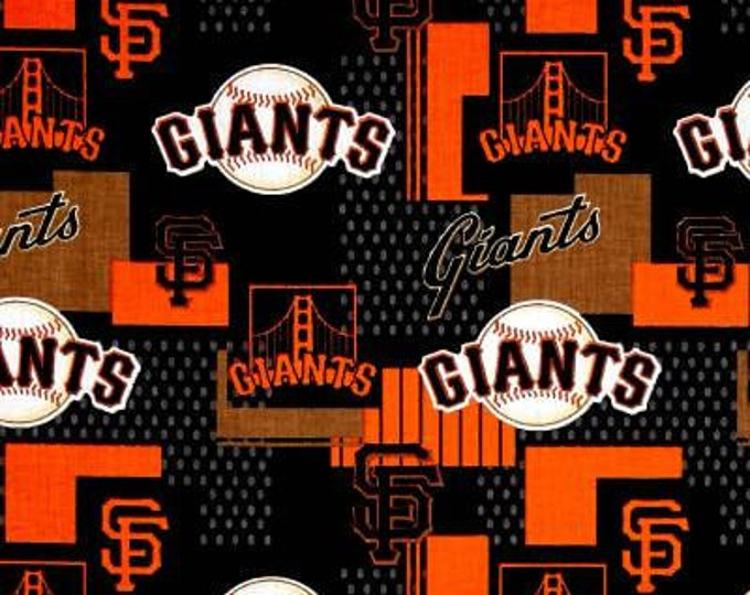 San Francisco Giants Cotton Fabric by the Yard