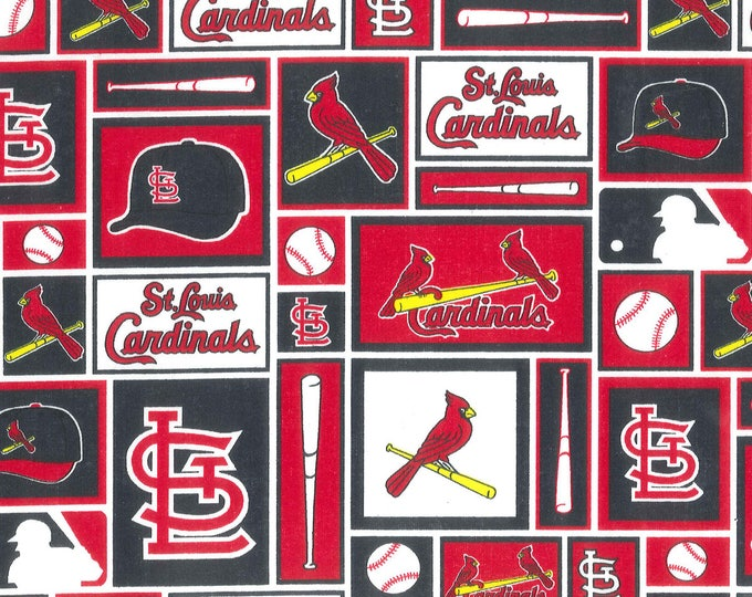 St. Louis Cardinals Cotton Fabric by the Yard