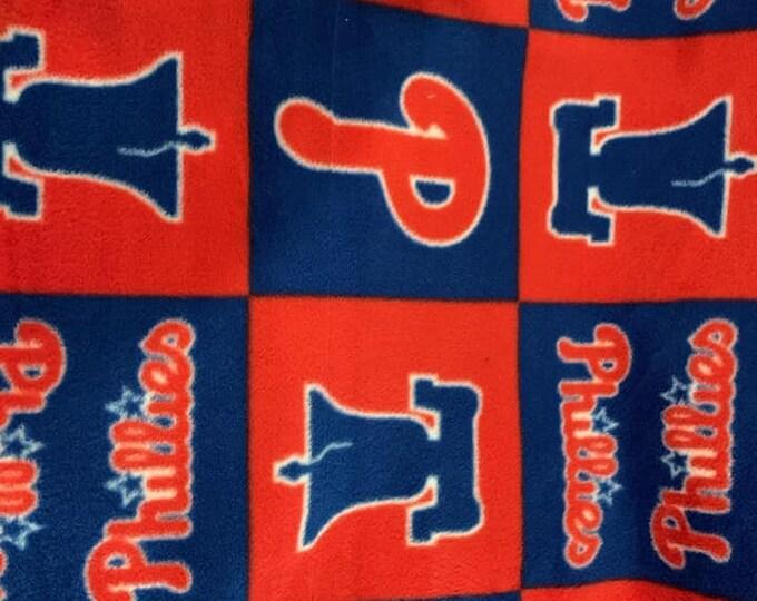 Philadelphia Phillies Fleece Fabric by the Yard
