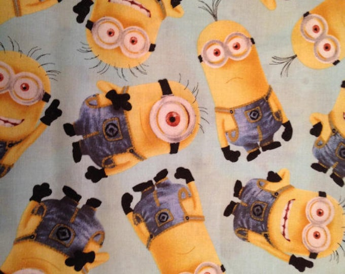 Minions Cotton Fabric by the Yard