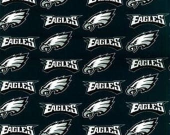 Philadelphia Eagles Cotton Fabric by the Yard