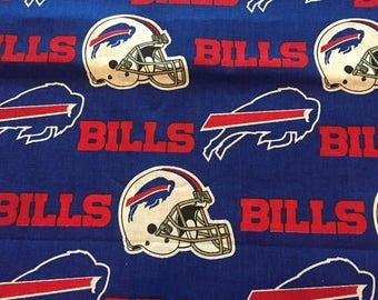 Buffalo Bills Cotton Fabric by the Yard