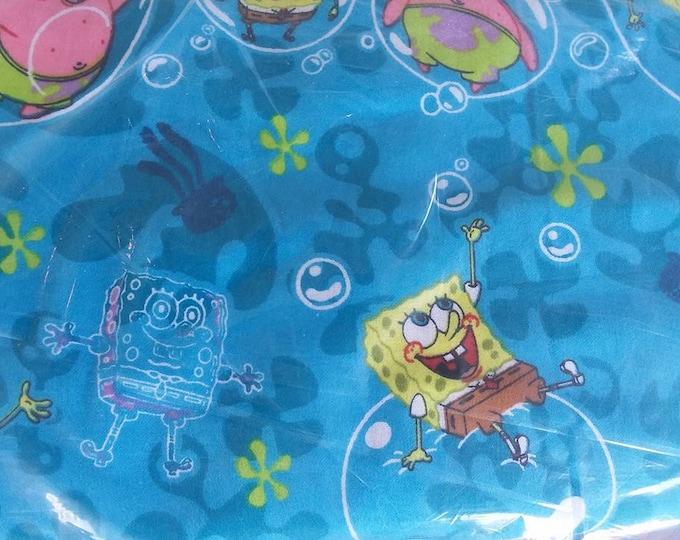 SpongeBob Flannel Fabric by the Yard