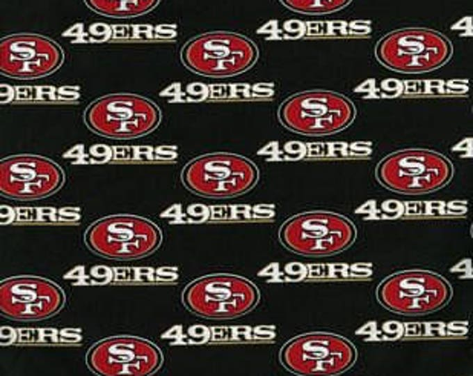 San Francisco 49ers Cotton Fabric by the Yard