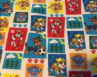 Paw Patrol Flannel Fabric by the Yard
