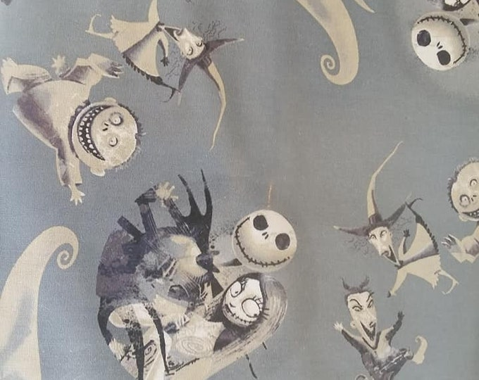 Nightmare before Christmas Cotton Fabric by the Yard