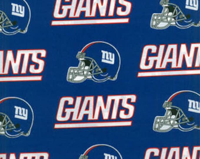 New York Giants Cotton Fabric by the Yard