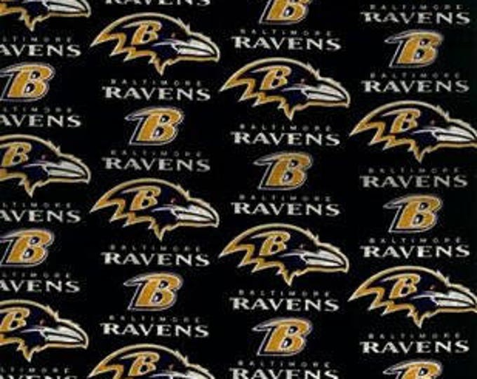 Baltimore Ravens Cotton Fabric by the Yard