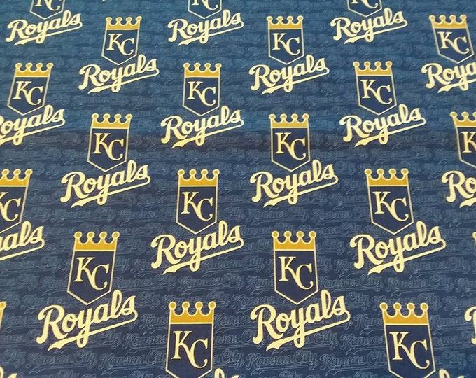 Kansas City Royals Cotton Fabric by the Yard