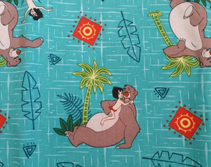 Jungle Book Cotton Fabric by the Yard
