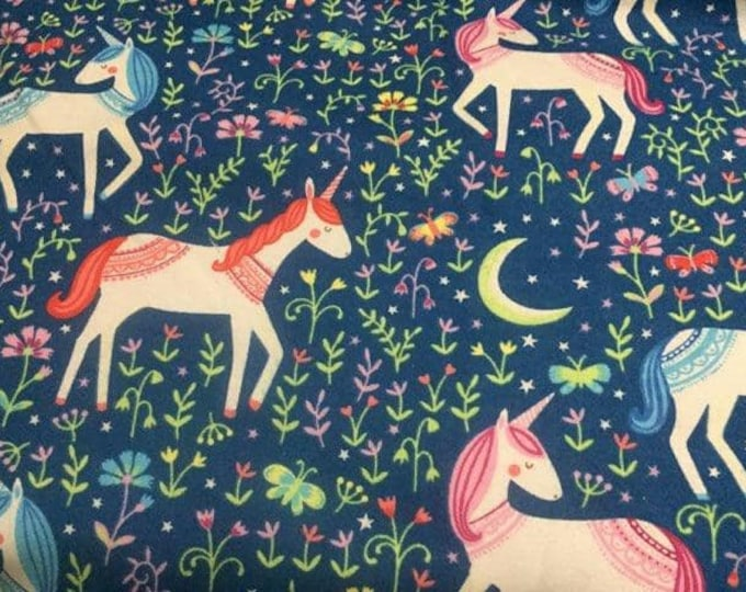 Magical Night Flannel Fabric by the Yard
