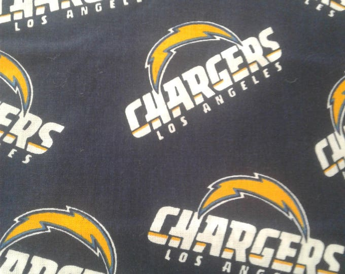 Los Angeles Chargers Cotton Fabric by the Yard