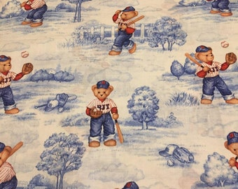 Teddy Bear Cotton Fabric by the Yard