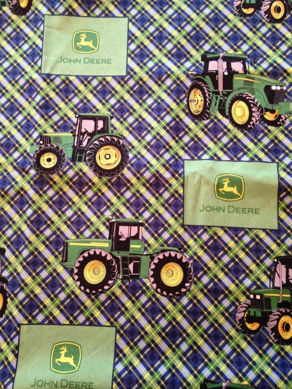 John Deere Cotton Fabric By The Yard