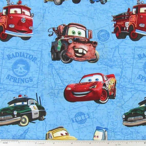 CARS SLIPSTREAM WALLHANGING FABRIC