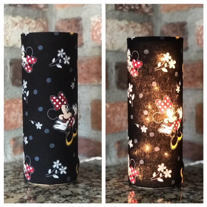 Minnie Mouse Minnie Maus Nacht Licht Lampe Akzentlicht | Etsy
