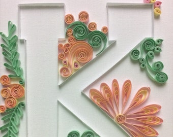 Quilling- Block Letter