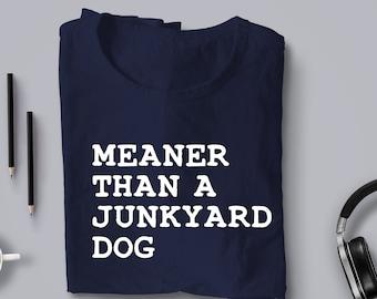 Bad, Bad Leory Brown Junkyard Dog graphic tee