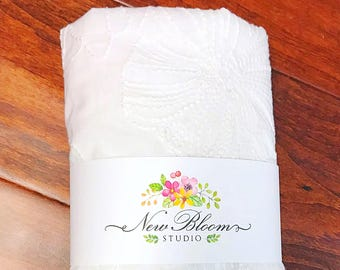 Lace edged pillowcase