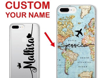Cases, Covers & Skins Personalised Name Rose Gold Marble Crown Queen Custom Gel Phone Case For Iphone Pretty And Colorful