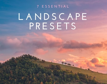7 essentiële landschap Lightroom Presets