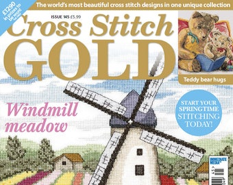 Cross stitch gold 145-embroidery patterns-68 pages-3 PDF file-needlework- home