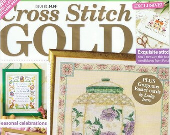 Cross stitch gold 82-embroidery patterns-68 pages-3 PDF file-needlework- home