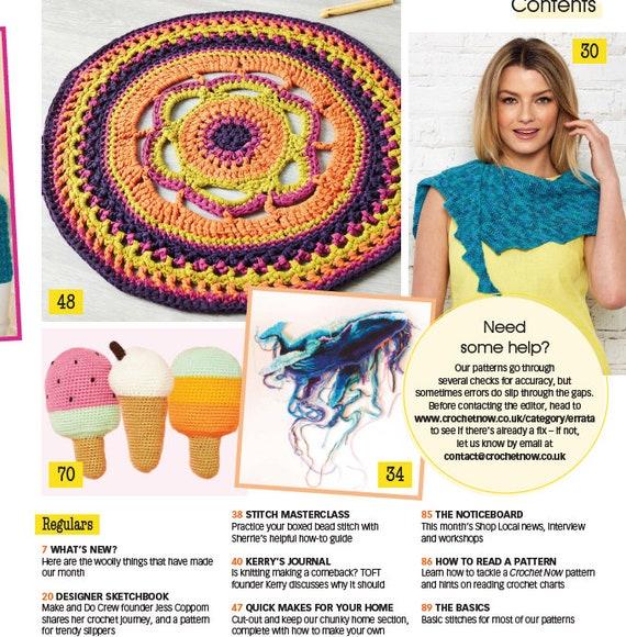 Part Ii Crochet Now 30 2018 Crochet Patterns Crochet Etsy