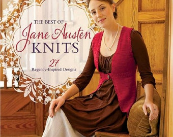 The Best of Jane Austen Knits-patterns knitting-knitting-knitting needles-PDF file