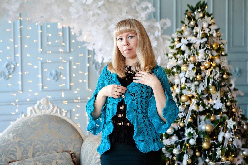jacket summer clothing crochet fashion crochet jacket Crochet clothing Crochet blouse women/'s clothing lace crochet crochet style
