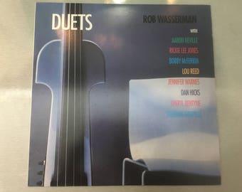 Vinyl LP Rob Wasserman Duets 1997 USA alto AA011