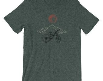 Mountain Bike Shirt Etsy