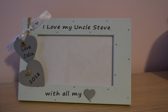 Personalised Daddy and Me Photo Frame Keepsake Gift 6x4 QUICK DISPATCH
