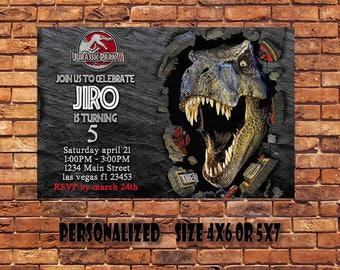 Jurassic World,Jurassic World Birthday Invitation,Jurassic World Party,Jurassic World Printable,Jurassic Park Invitation,Digital Printable
