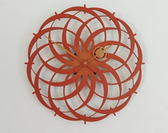 """Bell """"Twisted Circles"""" Brown-Beige (30 cm.)"""