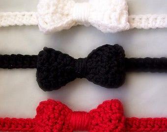 Infant Bow Tie Crochet Pattern | Crochet Bow Tie for Babies | Crochet Child Bow Tie Pattern | Crochet Bow Tie Pattern | PDF Download