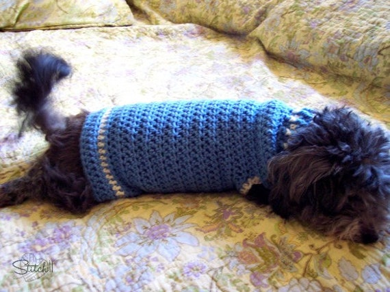 Small Dog Coat Crochet Pattern Crochet Dog Jacket Pattern Etsy