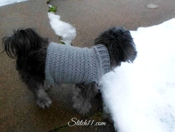 Extra Small Dog Coat Crochet Pattern Crochet Dog Sweater Etsy