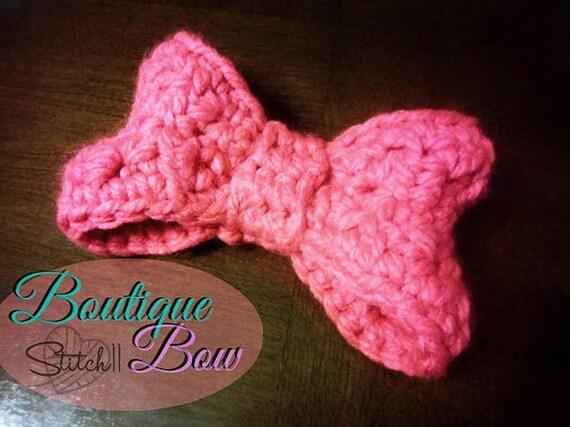 Crochet Bow Pattern Crochet Bow For Kids Crochet Baby Bow Etsy
