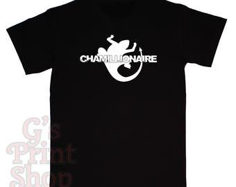 CHAMILLIONAIRE T Shirt - Chamillitary - Southern Hip Hop - Rap - Urban - White