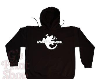 CHAMILLIONAIRE Hooded Sweatshirt Hoodie - Chamillitary - Southern Hip Hop - Rap - Urban - White